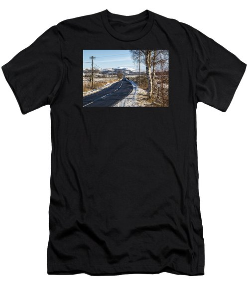 The Trossachs National Park In Scotland Men's T-Shirt (Athletic Fit)