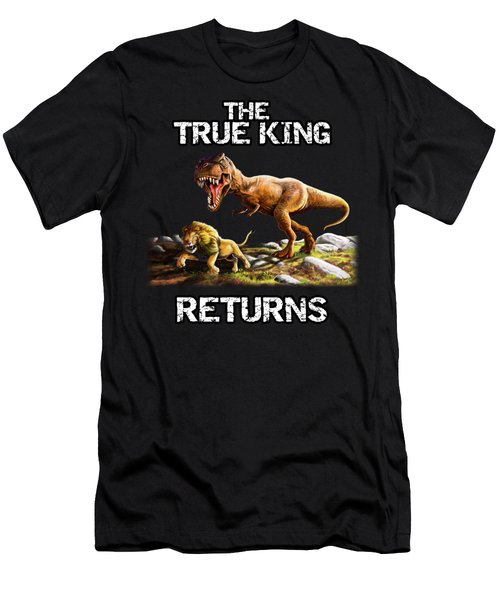 The True King Returns Men's T-Shirt (Athletic Fit)
