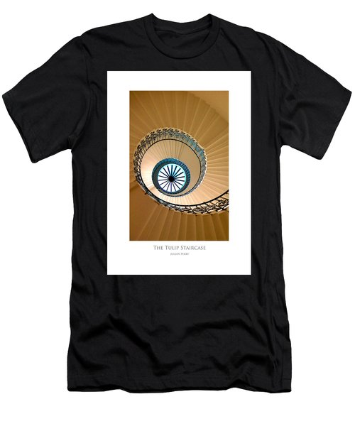 The Tulip Staircase Men's T-Shirt (Athletic Fit)