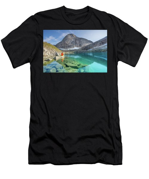 The Turquoise Lake Men's T-Shirt (Athletic Fit)
