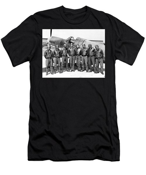 The Tuskegee Airmen Circa 1943 Men's T-Shirt (Athletic Fit)