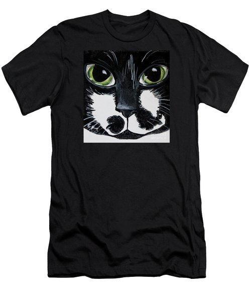 The Tuxedo Cat Men's T-Shirt (Athletic Fit)
