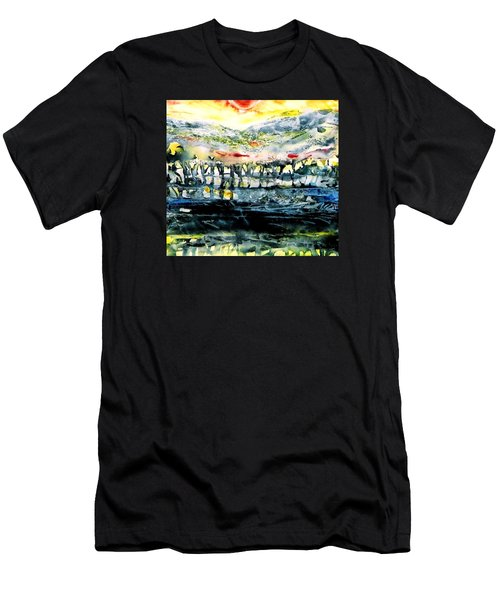 The Twisted Reach Of Crazy Sorrow Men's T-Shirt (Slim Fit) by Trudi Doyle