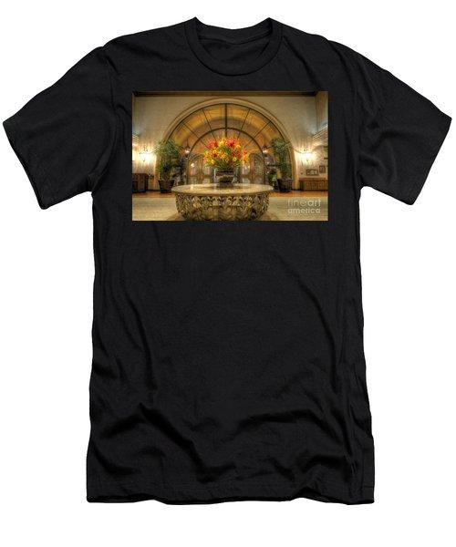The Uncentered Centerpiece Men's T-Shirt (Athletic Fit)