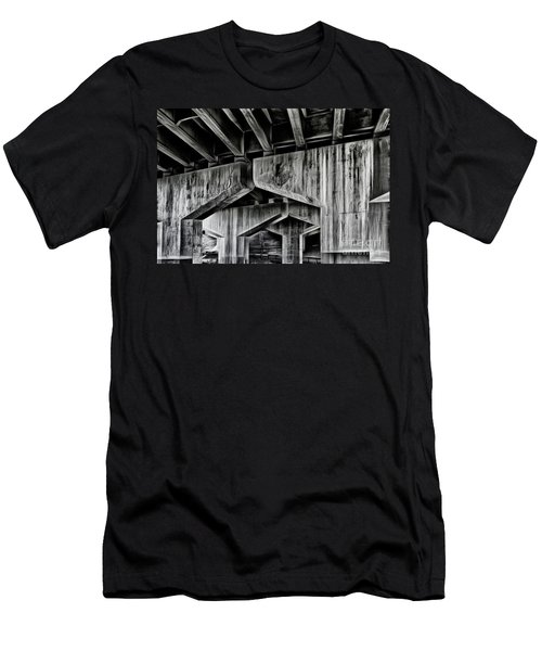 Men's T-Shirt (Slim Fit) featuring the photograph The Urban Jungle by Brad Allen Fine Art