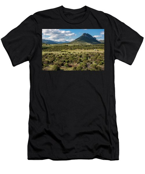 The Urzulei Mountains Men's T-Shirt (Athletic Fit)