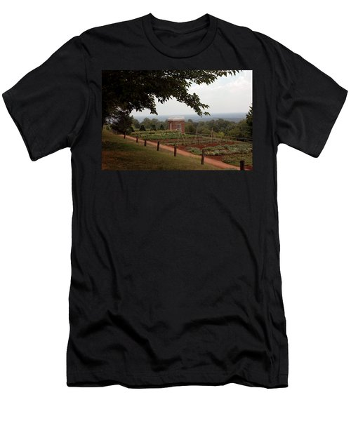 The Vegetable Garden At Monticello Men's T-Shirt (Athletic Fit)