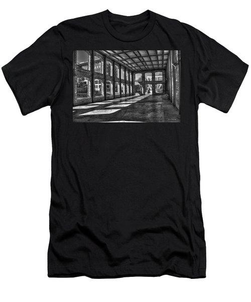 The Venue Bw Old Mill Wedding Venue Reedy River South Caroline Art Men's T-Shirt (Athletic Fit)