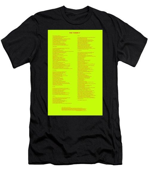 The Verdict Men's T-Shirt (Athletic Fit)