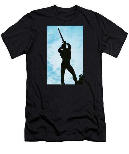 Men's T-Shirt (Slim Fit) featuring the photograph The Victor by Jake Hartz