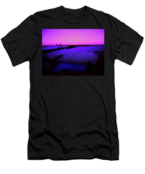 The Purple View  Men's T-Shirt (Athletic Fit)