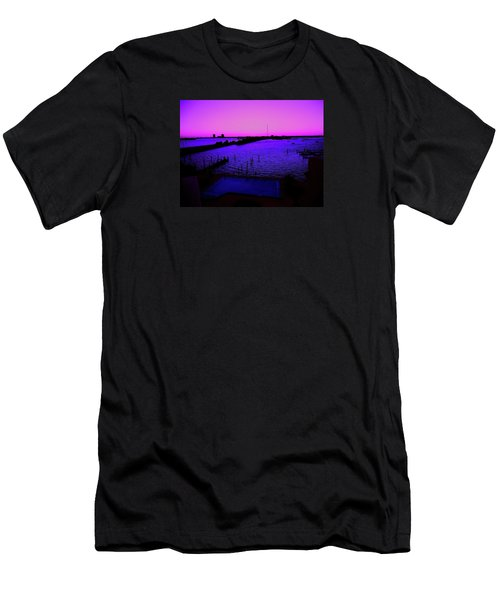 The Purple View  Men's T-Shirt (Athletic Fit)