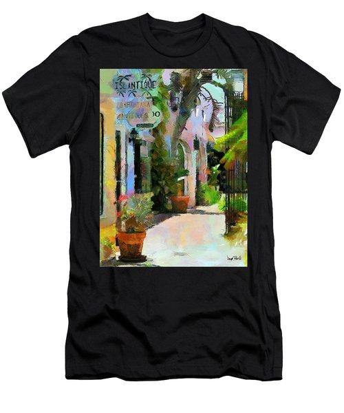 The Villa Men's T-Shirt (Slim Fit) by Wayne Pascall