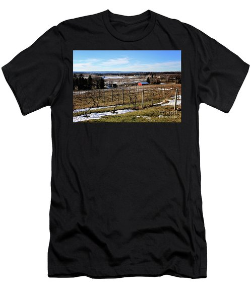The Vineyard On Old Mission Men's T-Shirt (Athletic Fit)
