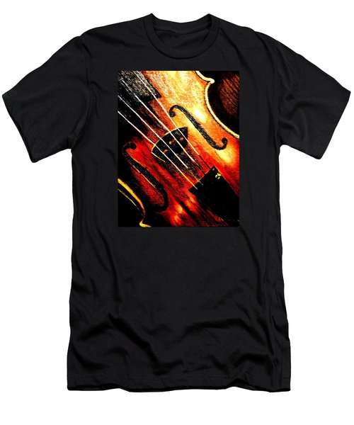 The Violin Men's T-Shirt (Athletic Fit)