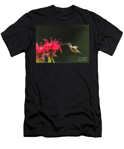 Men's T-Shirt (Slim Fit) featuring the photograph The Visitor by Robert Pearson