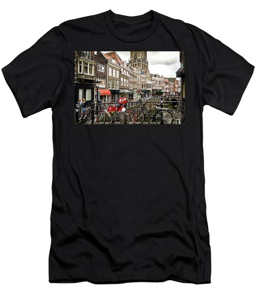 Men's T-Shirt (Slim Fit) featuring the photograph The Vismarkt In Utrecht by RicardMN Photography