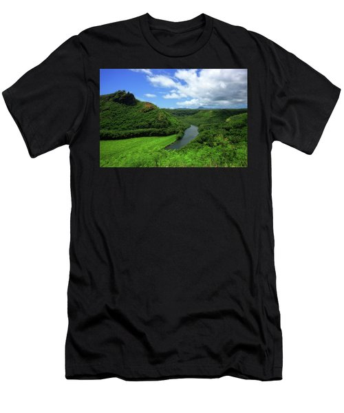 The Wailua River Men's T-Shirt (Athletic Fit)