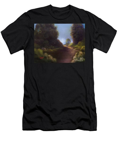 The Walk Home Men's T-Shirt (Slim Fit) by Marlene Book