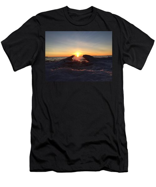 The Walrus And The Bear Men's T-Shirt (Athletic Fit)