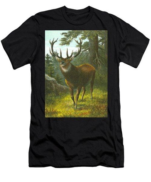 The Wapiti Men's T-Shirt (Athletic Fit)