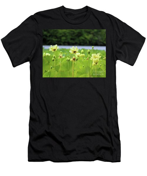 The Water Fields  Men's T-Shirt (Athletic Fit)