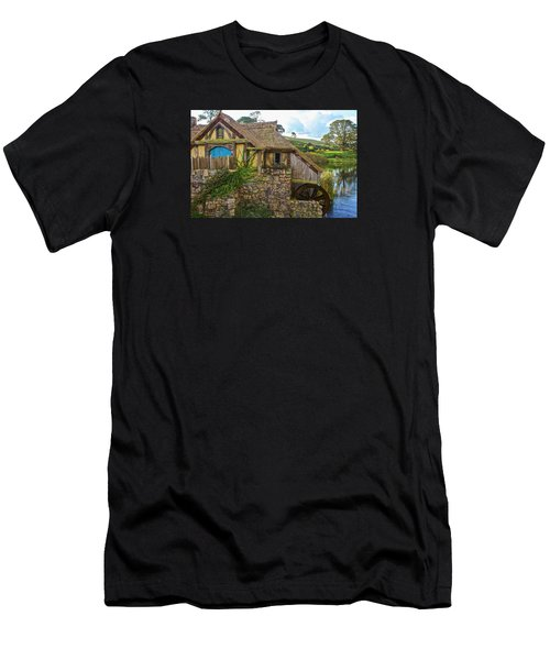 The Watermill, Bag End, The Shire Men's T-Shirt (Athletic Fit)
