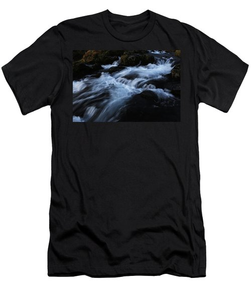 The Waters Of Kirkjufell Men's T-Shirt (Athletic Fit)