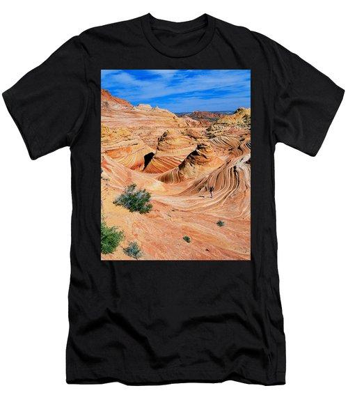 The Wave 2 Men's T-Shirt (Athletic Fit)