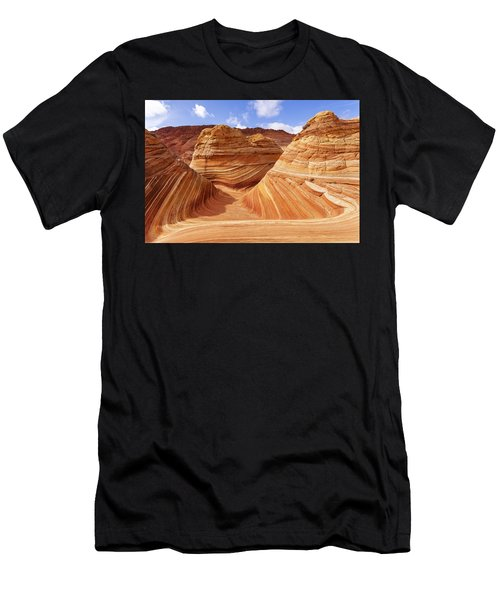 The Wave I Men's T-Shirt (Athletic Fit)