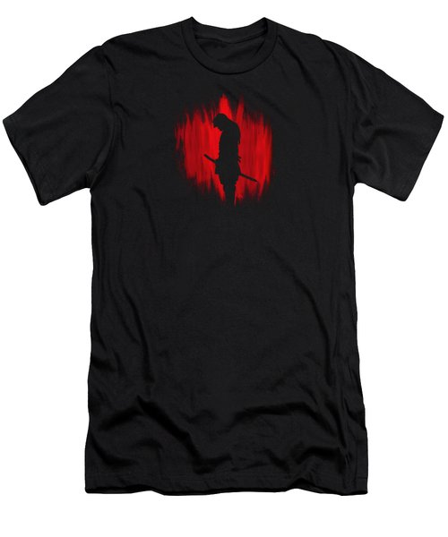 The Way Of The Samurai Warrior Men's T-Shirt (Slim Fit) by Philipp Rietz
