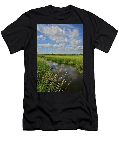 The Wetlands Of Hackmatack National Wildlife Refuge Men's T-Shirt (Athletic Fit)
