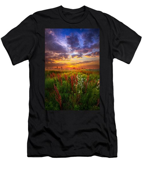 The Whispered Voice Within Men's T-Shirt (Athletic Fit)