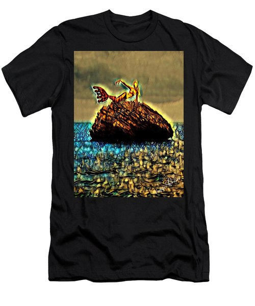 The Whisperer Men's T-Shirt (Slim Fit) by Vennie Kocsis