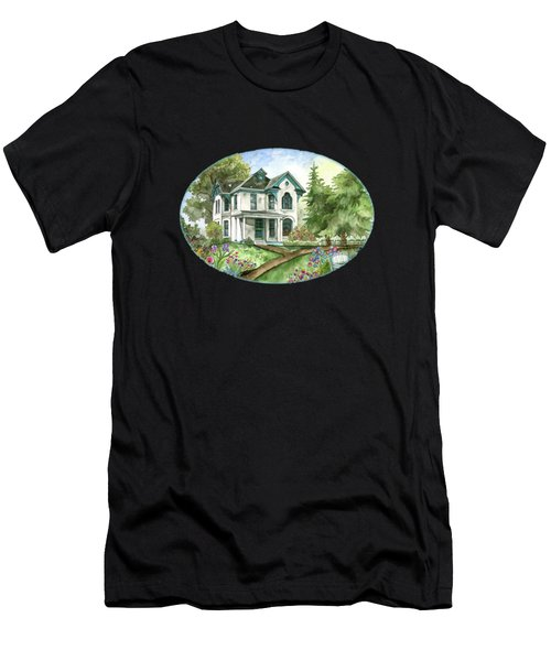 The White Farmhouse Men's T-Shirt (Athletic Fit)
