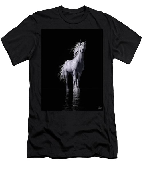 The White Horse Men's T-Shirt (Athletic Fit)