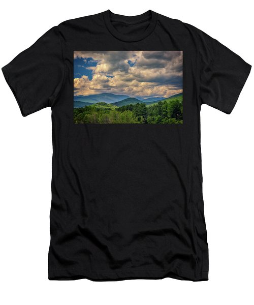 Men's T-Shirt (Athletic Fit) featuring the photograph The White Mountains by Rick Berk