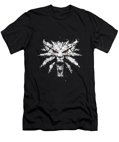 The White Wolf Men's T-Shirt (Athletic Fit)