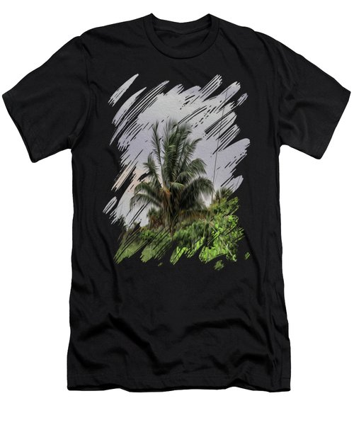 The Wild Palm Tree Men's T-Shirt (Athletic Fit)