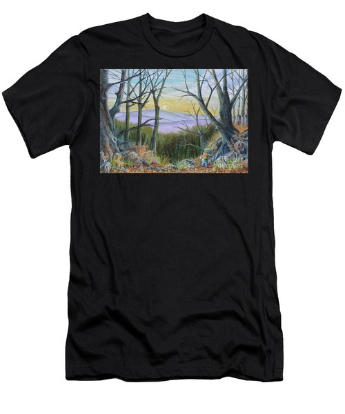 The Wild Wood Men's T-Shirt (Athletic Fit)