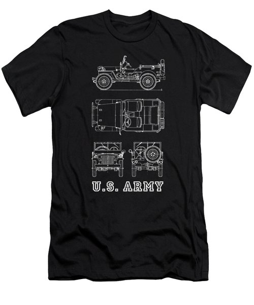The Willys Jeep Men's T-Shirt (Athletic Fit)