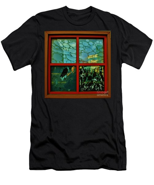 The Window Men's T-Shirt (Slim Fit) by Craig Wood