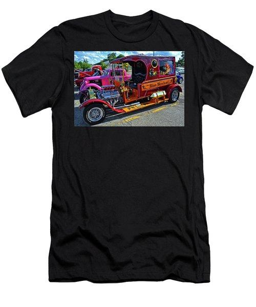 The Wine Merchant 001 Men's T-Shirt (Athletic Fit)