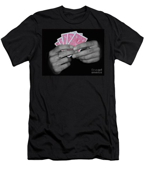 The Winning Hand Men's T-Shirt (Athletic Fit)