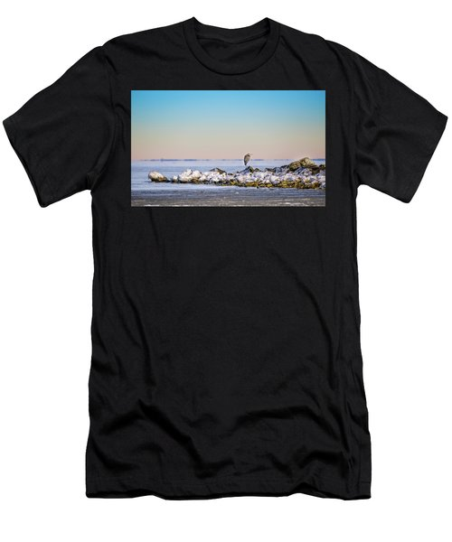 The Winter Heron Men's T-Shirt (Athletic Fit)