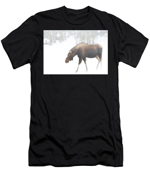 The Winter Moose Men's T-Shirt (Athletic Fit)