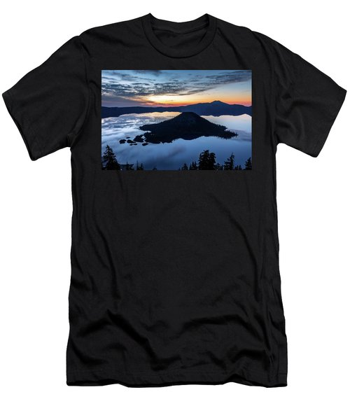 Men's T-Shirt (Athletic Fit) featuring the photograph The Wizard At Dawn by Pierre Leclerc Photography