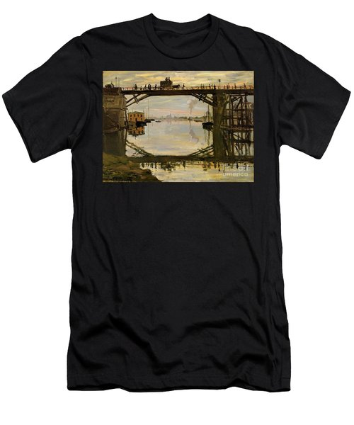 The Wooden Bridge Men's T-Shirt (Athletic Fit)