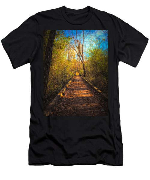 The Wooden Trail Men's T-Shirt (Athletic Fit)