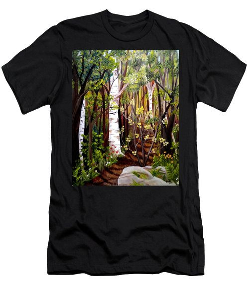 The Woodland Trail Men's T-Shirt (Athletic Fit)